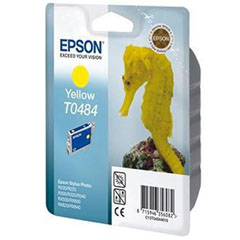 Material EPSON STYLUS PHOTO R-200/220/300/320/340, RX-500/600/620/640 CARTUCHO AMARILLO