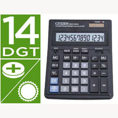 Material CALCULADORA CITIZEN SOBREMESA SDC-554S 14 DIGITOS
