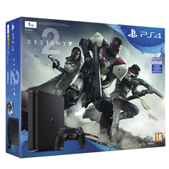 Material escolar  PS4 Consola Slim 1TB + Destiny 2 + Has Sido Tu!