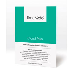 Material SAFESCAN SOFTWARE TIMEMOTO 12 MESES 25 USUARIOS MODELO CLOUD PLUS*