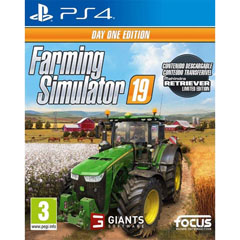 Material FARMING SIMULATOR 19 DAY ONE EDITION VIDEOJUEGO PARA PS4