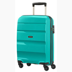 Material BON AIR SPINNER SAMSONITE RIGIDO COLOR TURQUESA