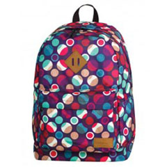 Material MOCHILA CROSS MOSAIC DOTS BACKPACK 720 25 LITROS