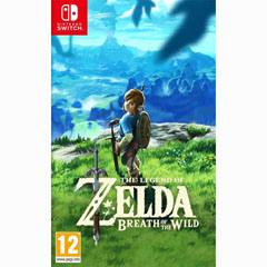 VIDEOJUEGO THE LEGEND OF ZELDA: BREATH OF THE WILD NINTENDO SWITCH