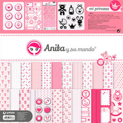 KIT SCRAP2 COLECCION MI PRINCE C/MALETIN GRAFOPLAS REF.37010711 Productos originales baratos Scrapbooking