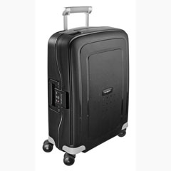 Material S´CURE SPINNER SAMSONITE 4 RUEDAS COLOR NEGRO