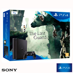 Material escolar  PS4 CONSOLA SLIM 1TB + THE LAST GUARDIAN SONY