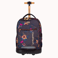Material escolar  MOCHILA RAPID TROLLEY SWIFT GREY DENIM FLOWERS 1070